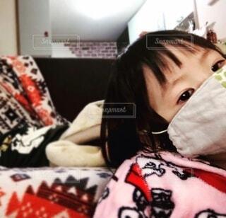 風邪ひきの写真・画像素材[4012371]