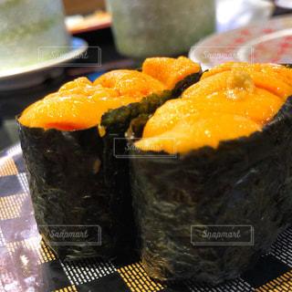 秋,食事,美しい,寿司,高級,食欲,うに