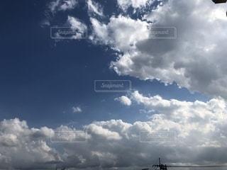 空,秋,屋外,雲,秋空