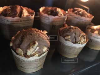 チョコレートのカップケーキの写真・画像素材[2978532]