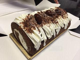 食べ物,ケーキ,栗,デザート,甘い,マロン,ロールケーキ