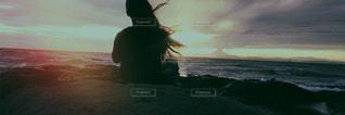 夕焼け,海辺,茜空,想い出,秋空,金谷港