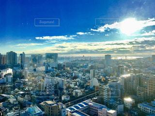 東京の朝の写真・画像素材[2412533]