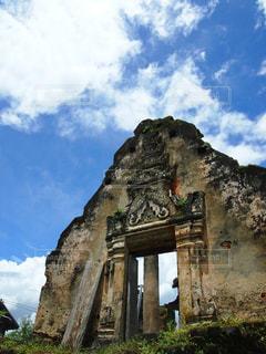 空,田舎,景色,観光,寺院,遺産,ラオス