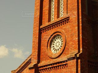 空,建物,景色,教会,九州,長崎県,五島列島,福江島,五島