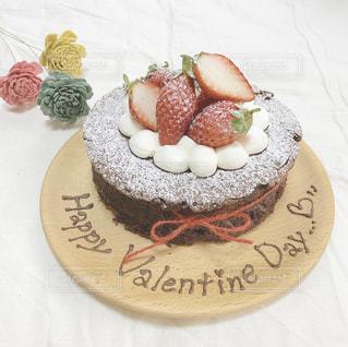 ケーキ,お菓子,バレンタイン,ガトーショコラ,チョコ,手作り,バレンタインデー