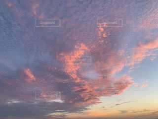 自然,風景,夕日,屋外,雲,夕暮れ,景色