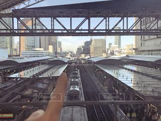 建物,屋外,鉄道,大阪駅,夢,ポジティブ,出発,ターミナル,門出,長い,可能性