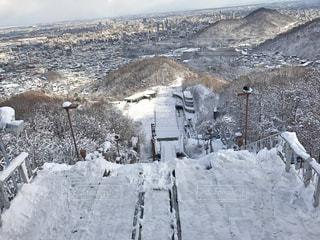 自然,雪,雪山,北海道,スキー,札幌,斜面,ジャンプ台,大倉山ジャンプ台