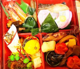 料理の種類でいっぱいのボックスの写真・画像素材[1726981]