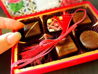 スイーツ,チョコレート,バレンタイン,チョコ,和風,色・表現