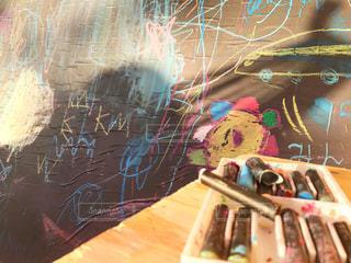 子供,黒板,チョーク,こども,落書き,らくがき,黒板アート
