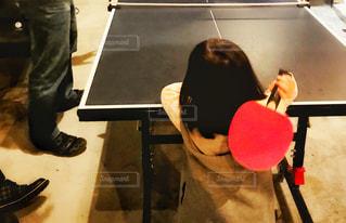 スポーツ,屋内,子供,女の子,テーブル,人物,人,こども,運動,卓球,ラケット,卓球台,インドアスポーツ