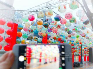 中之島の台湾ランタンイベントの写真・画像素材[2819311]