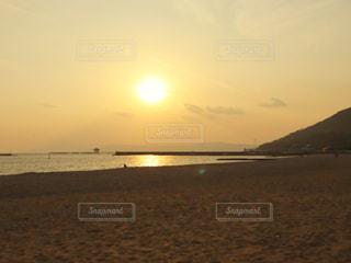 自然,風景,海,空,屋外,太陽,砂,ビーチ,砂浜,水面,海岸,光,神戸,サンセット,須磨,須磨海岸
