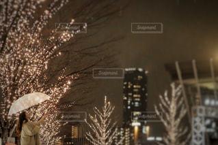 夜,屋外,高層ビル,明るい,グランフロント,シャンパンゴールド