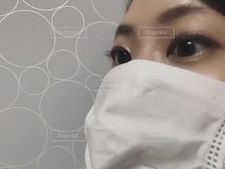マスク マスク女子の写真・画像素材[3537933]