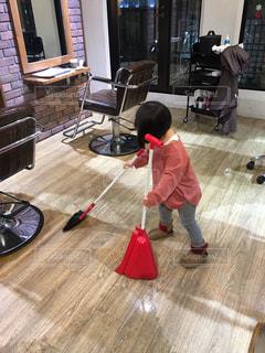 床,掃除,美容室,お手伝い