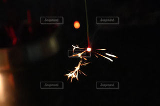 空に花火の写真・画像素材[1693206]