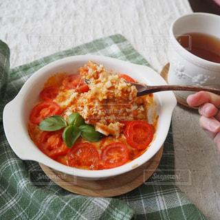トマトのオーブン料理の写真・画像素材[3107600]