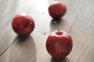 青森のアルプスりんごの写真・画像素材[1767077]