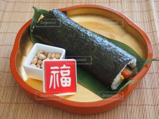 節分の丸かぶり寿司の写真・画像素材[1771321]