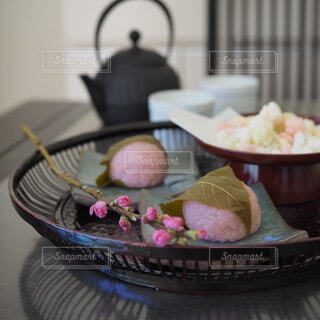 道明寺さんでひな祭りの写真・画像素材[4212024]