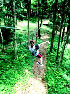 スポーツ,森,林,大自然,アスレチック,スポーツの秋,ターザニア