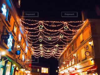 夜の街灯の写真・画像素材[1879582]
