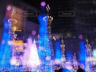 青の光の写真・画像素材[1680620]