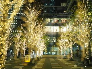 夜の街の眺めの写真・画像素材[2783553]