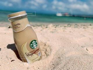 自然,空,海外,スターバックス,砂浜,海岸,浜辺,旅行,グアム,sea,スタバ,海外旅行,starbucks,休暇,フォトジェニック