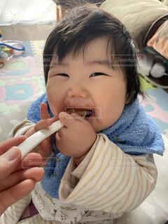 離乳食の写真・画像素材[4103837]