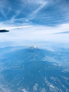 飛行機からの景色の写真・画像素材[2267862]