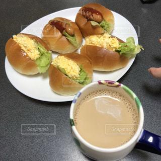 食べ物,コーヒー,ランチ,テーブル,ロールサンド