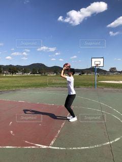 スポーツ,屋外,バスケ,スローイング