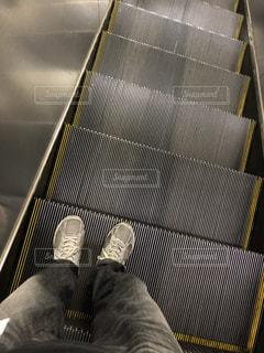 靴,駅,足,男,エスカレーター,ズボン,39