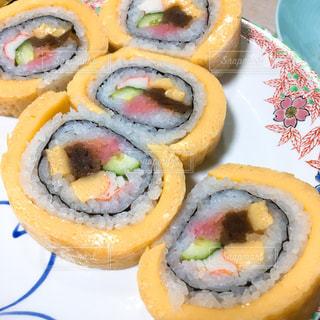 房総の郷土料理、太巻き寿司の写真・画像素材[1540260]