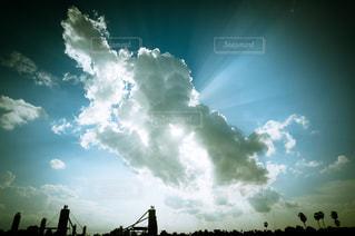 雲,大空,光,ポジティブ,希望,将来