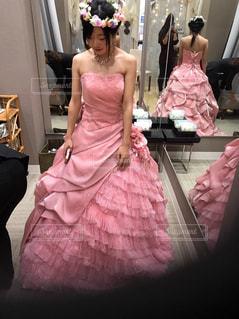 ドレス,道,結婚,未来,夢,ポジティブ,新しい,カラードレス,可能性