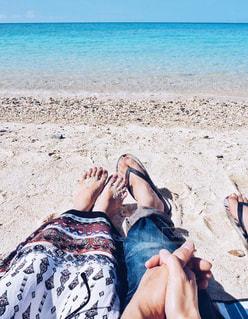 思い出のビーチでの写真・画像素材[1585513]