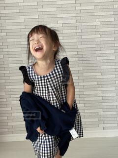 笑顔の女の子の写真・画像素材[3649285]