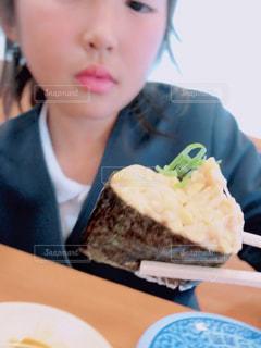 大好きな納豆の軍艦巻き♥の写真・画像素材[1645089]