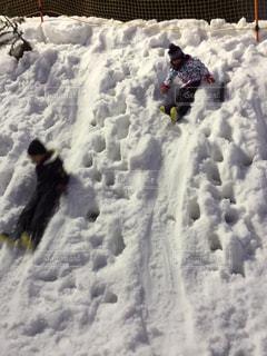 雪,白,子供,女の子,ホワイト,広島県,滑る,ホワイトカラー,めかひらスキー場