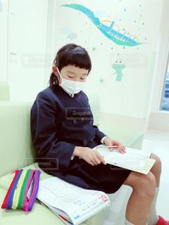 病院はマスク着用!!の写真・画像素材[1678023]