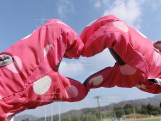 ピンク手袋の写真・画像素材[1835314]