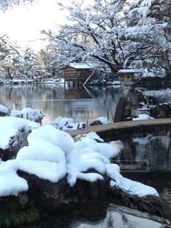 風景,空,雪,屋外,白,雪景色,景色,旅行,金沢,ホワイト,眺め,インスタ映え,レジャー・趣味