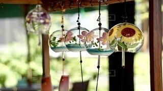 夏は風鈴の季節♪の写真・画像素材[4675555]