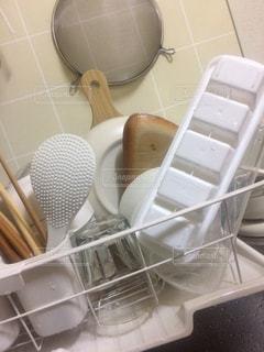 キッチン,屋内,白,食器,生活,ホワイト