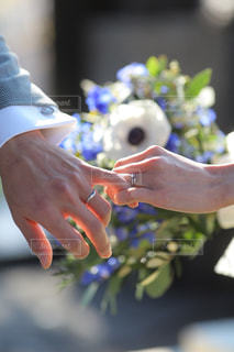 指輪の写真・画像素材[1573146]